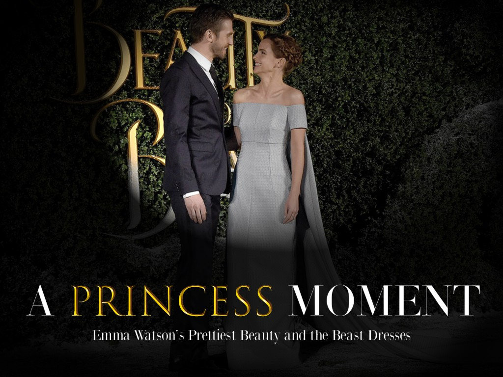 Emma Watson Beauty and the Beast Fashion
