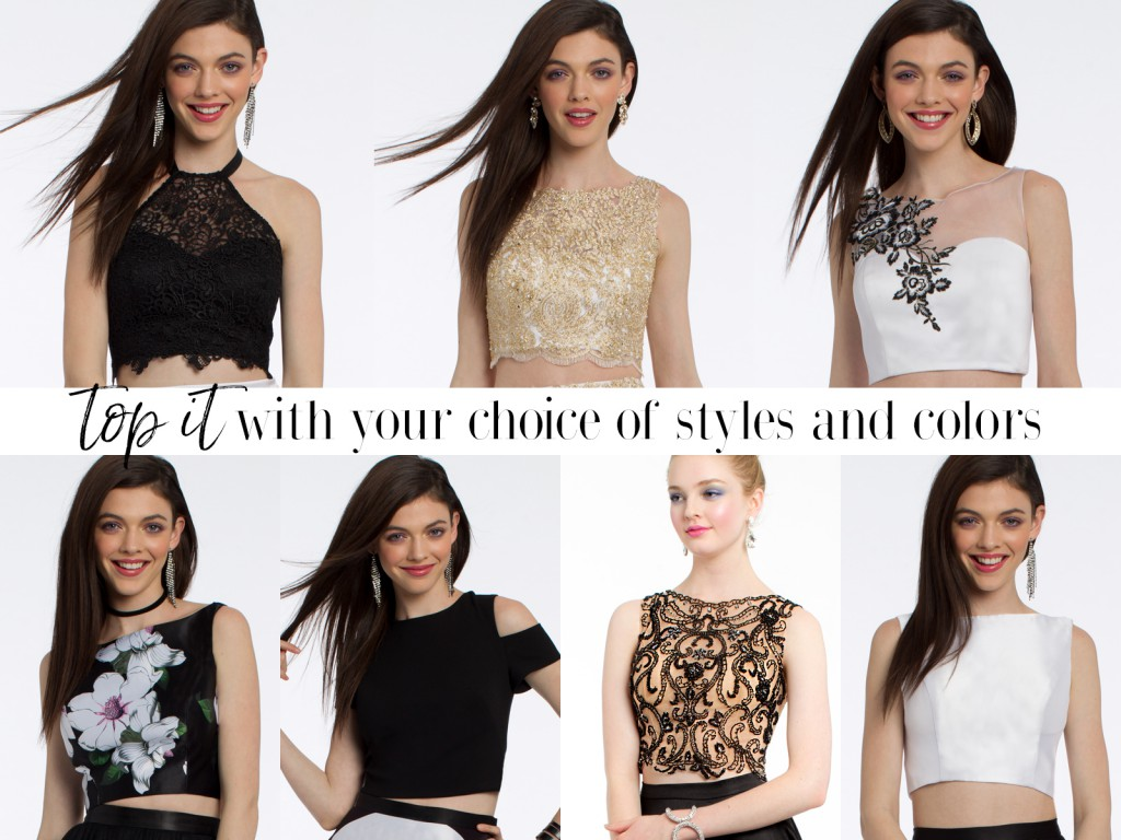 Formal Crop Tops