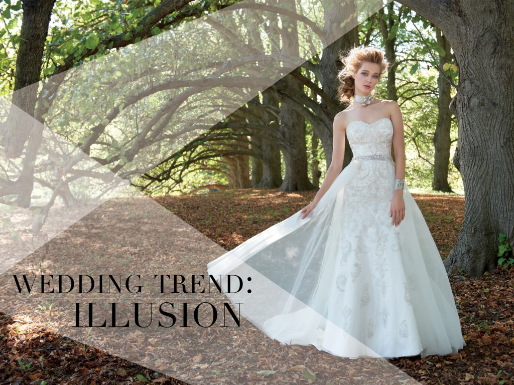 Illusion Wedding Dresses