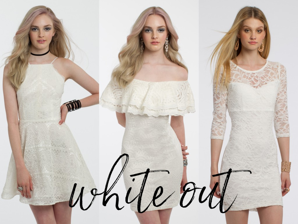 White Graduation Dresses