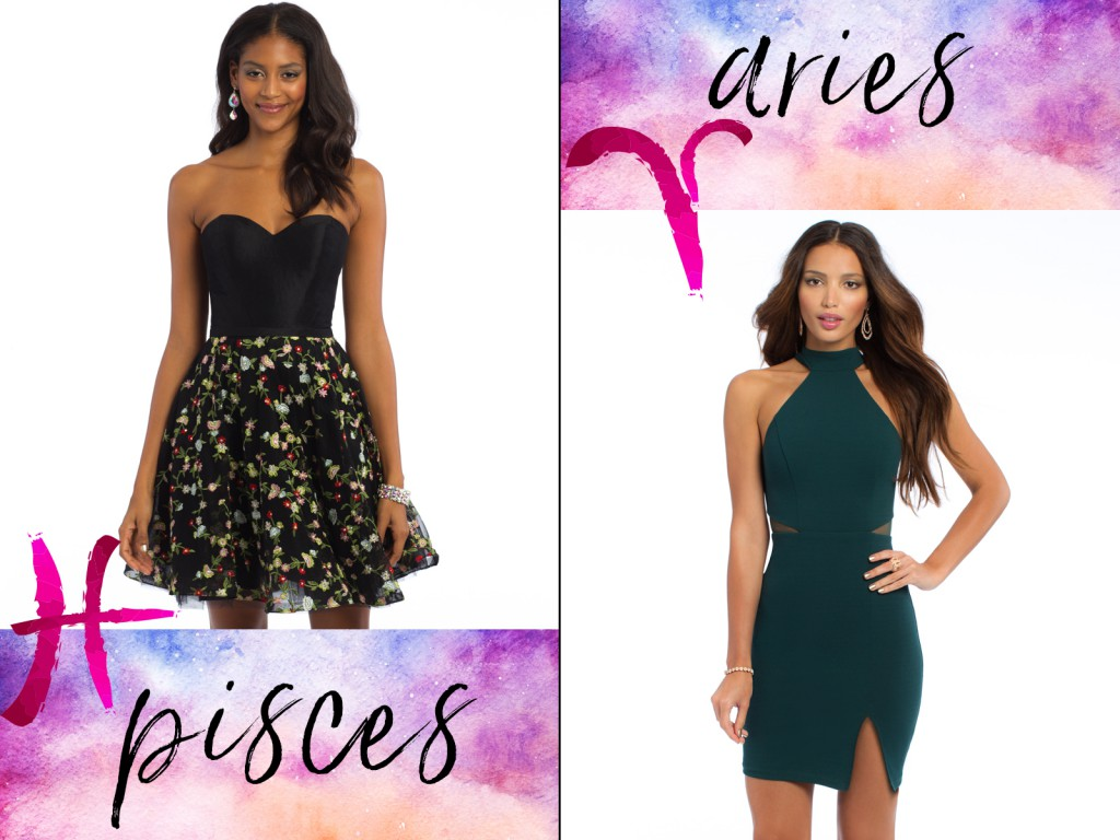 Pisces Aries Homecoming Dress