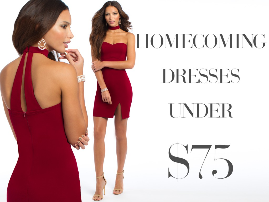 Homecoming Dresses Under $75