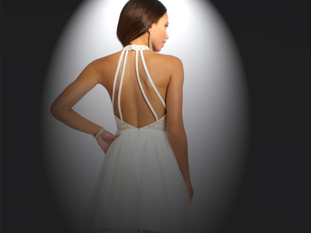 White Homecoming Dresses