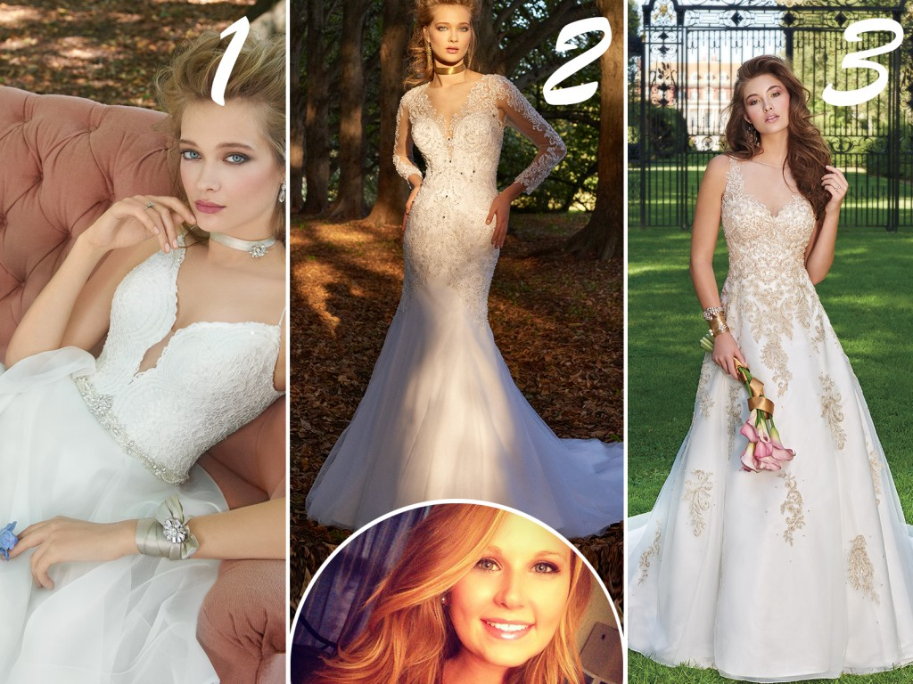 Jessica's Wedding Dress Picks