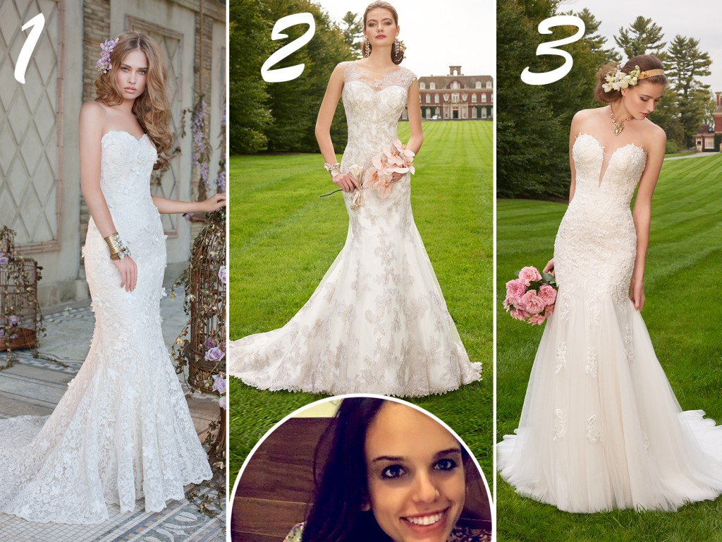 Natalie's Wedding Dress Picks