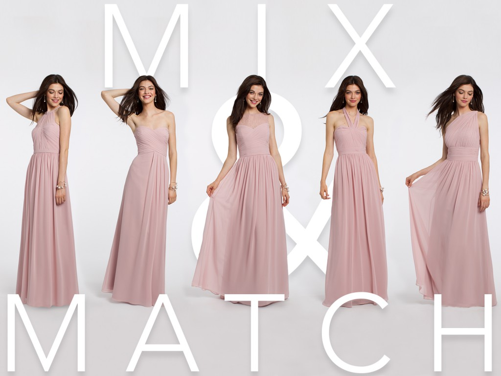 Rose Bridesmaid Dresses by Camille La Vie