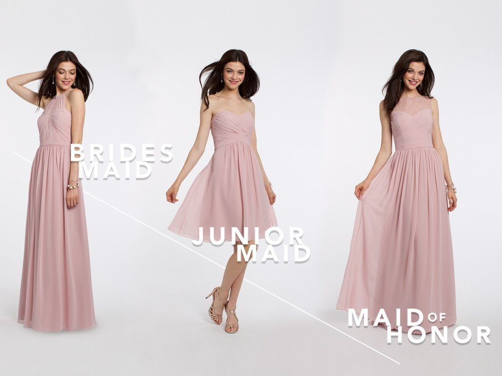 Camille La Vie Rose Bridesmaid Dresses