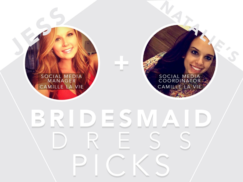 Top Bridesmaid Dress Picks from Real Bride-to-Be's