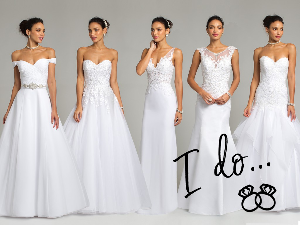 Wedding Dresses by Camille La Vie
