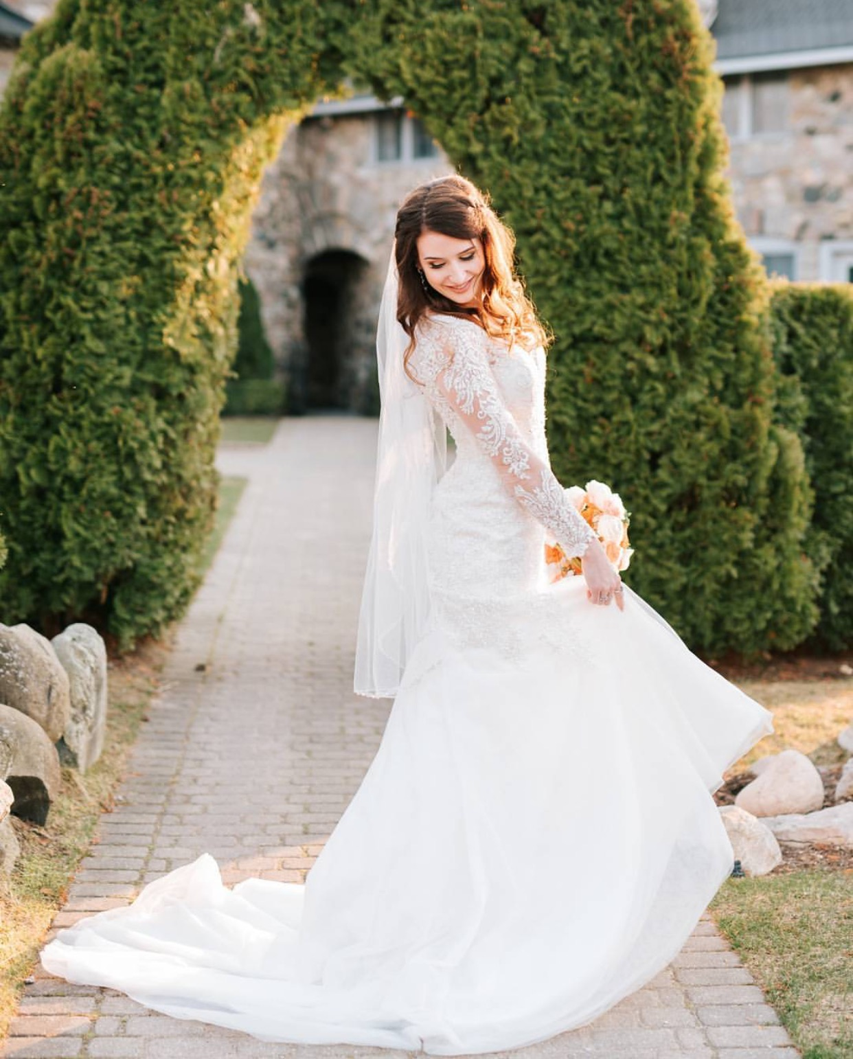 Wedding Dresses Worn By Clv Brides Camille La Vie