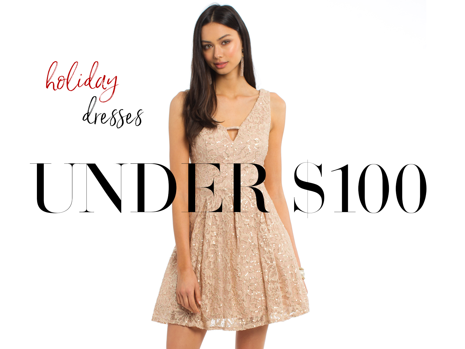 Holiday Dress Under $100