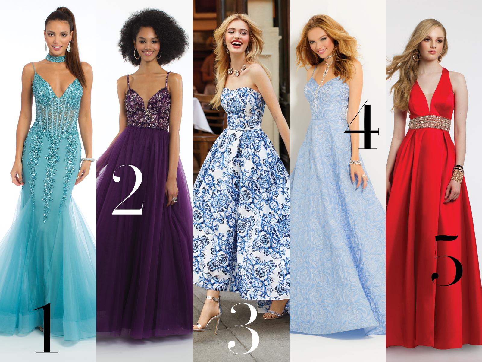 Brooklyn and Bailey\'s Prom Dress Picks | Camille La Vie