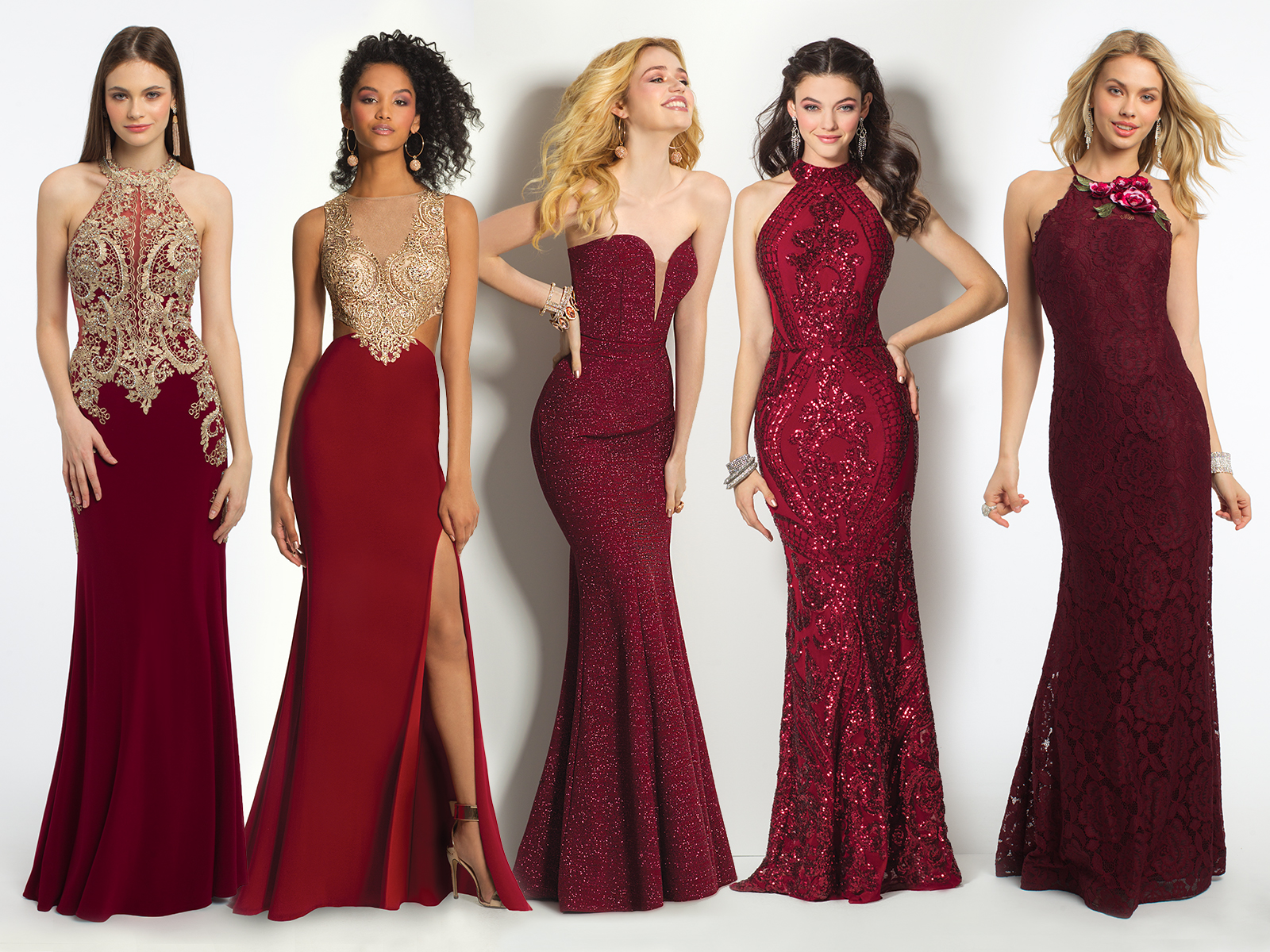 Red Prom Dresses Inspired by V-Day | Camille La Vie