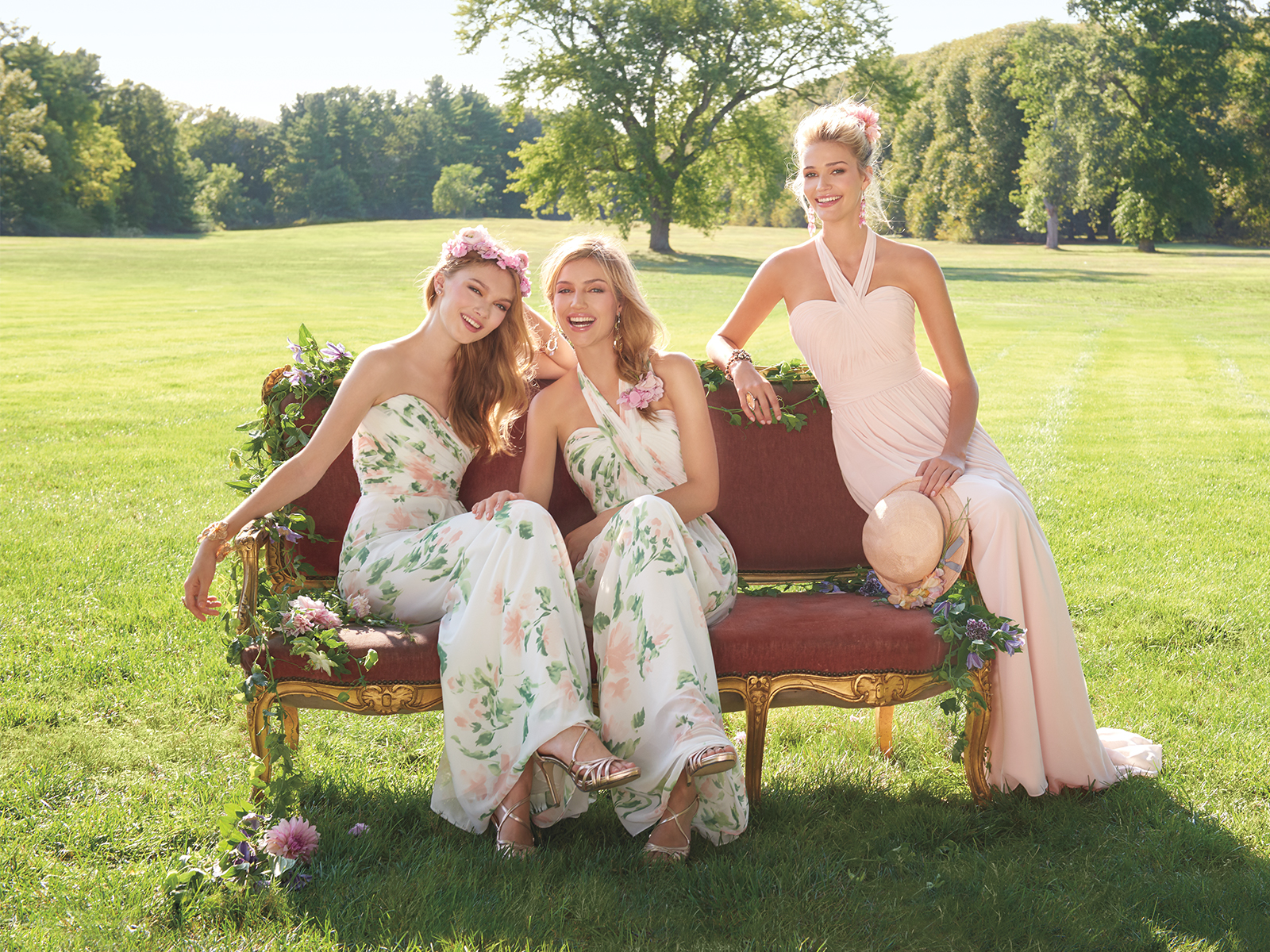 The Camille La Vie Bridesmaid Dress Collection