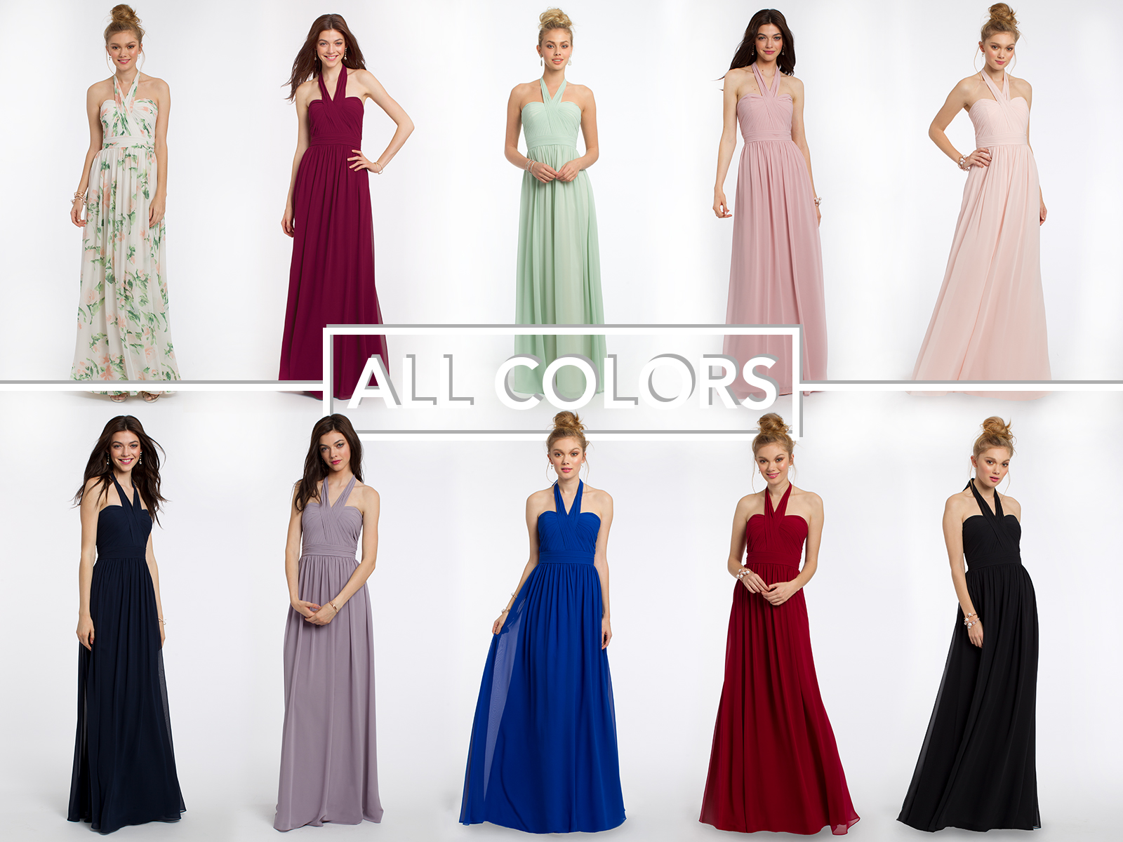 Camille La Vie Bridesmaid Dress Colors