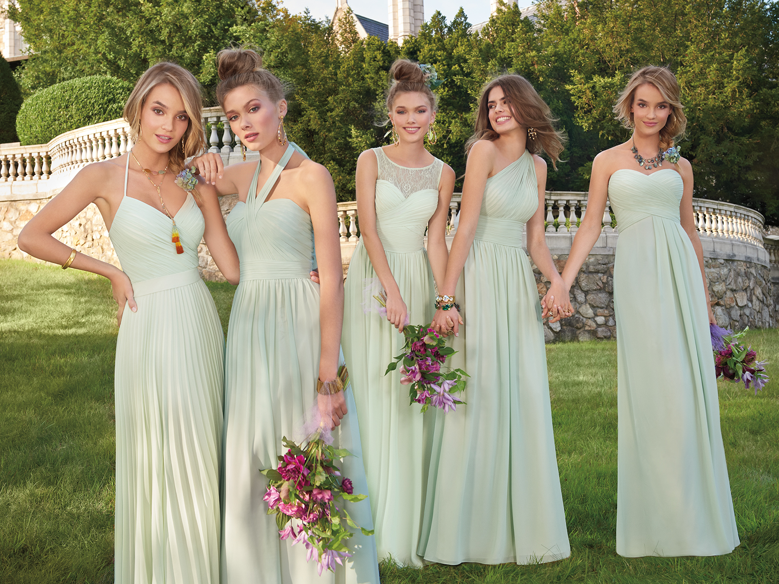 Effortless Bridal Party Style Starts Here | Camille La Vie
