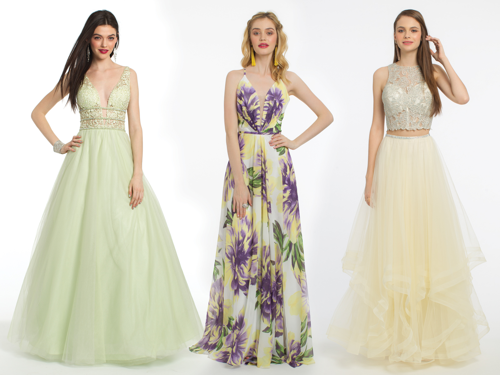 Ballgown and Print Prom Dresses