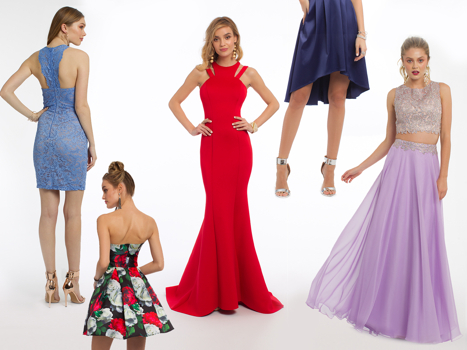 Evening Dresses for Your Favorite Features