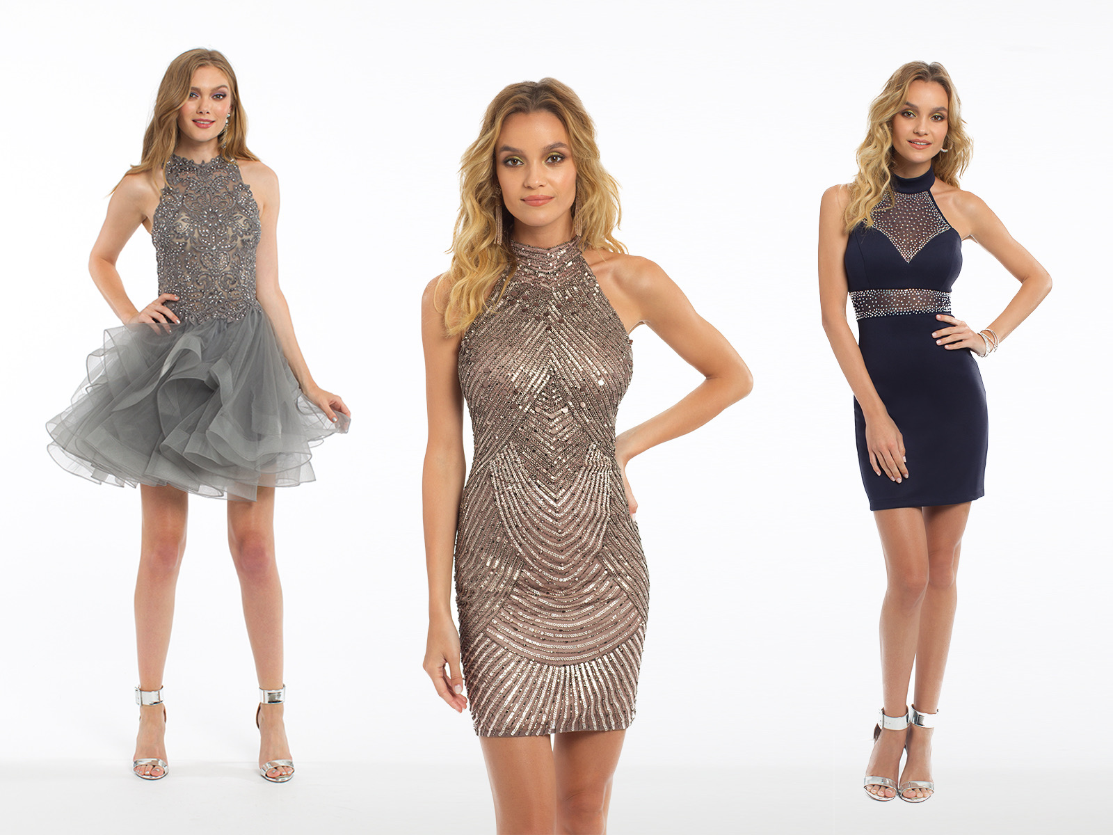Disco Theme Homecoming Dresses