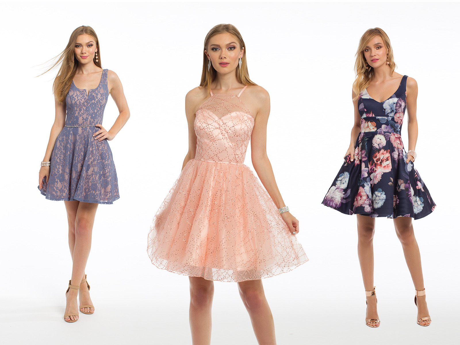 Enchanted Garden Theme Homecoming Dresses
