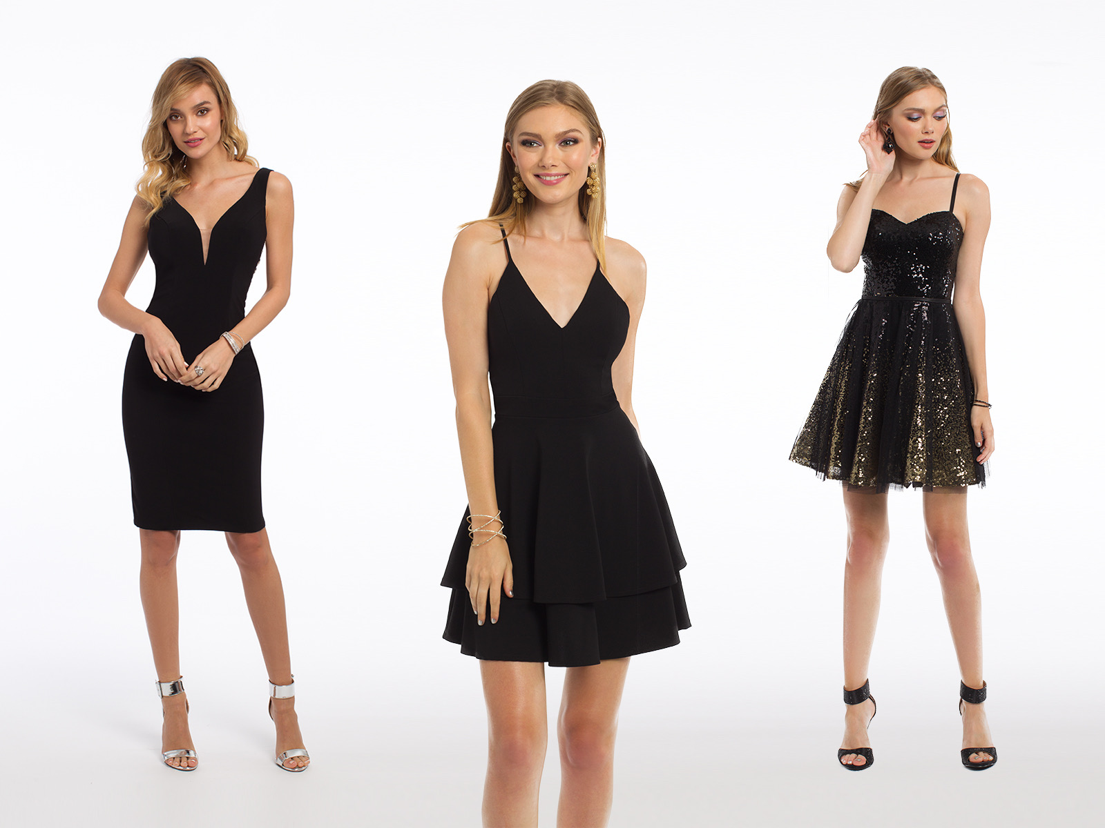 New York Theme Homecoming Dresses