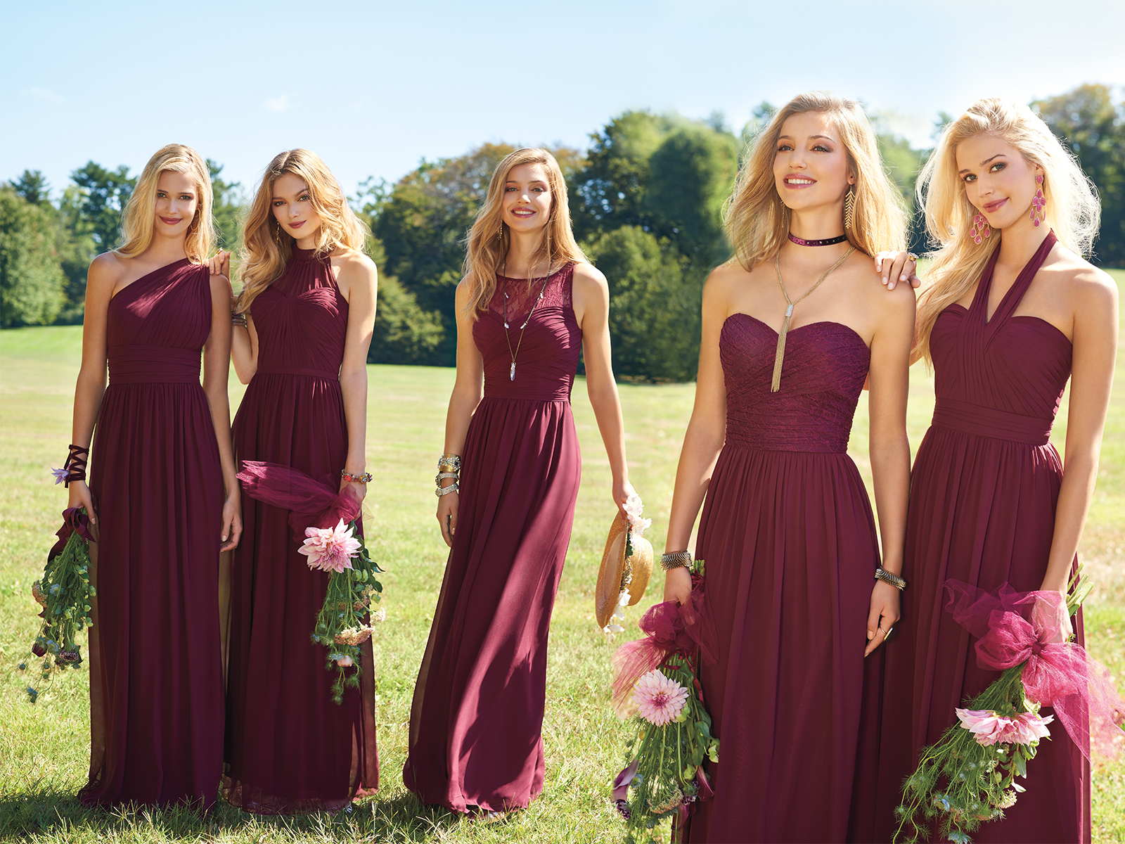 Our Top 4 Fall Bridesmaid Dress Colors Camille La Vie