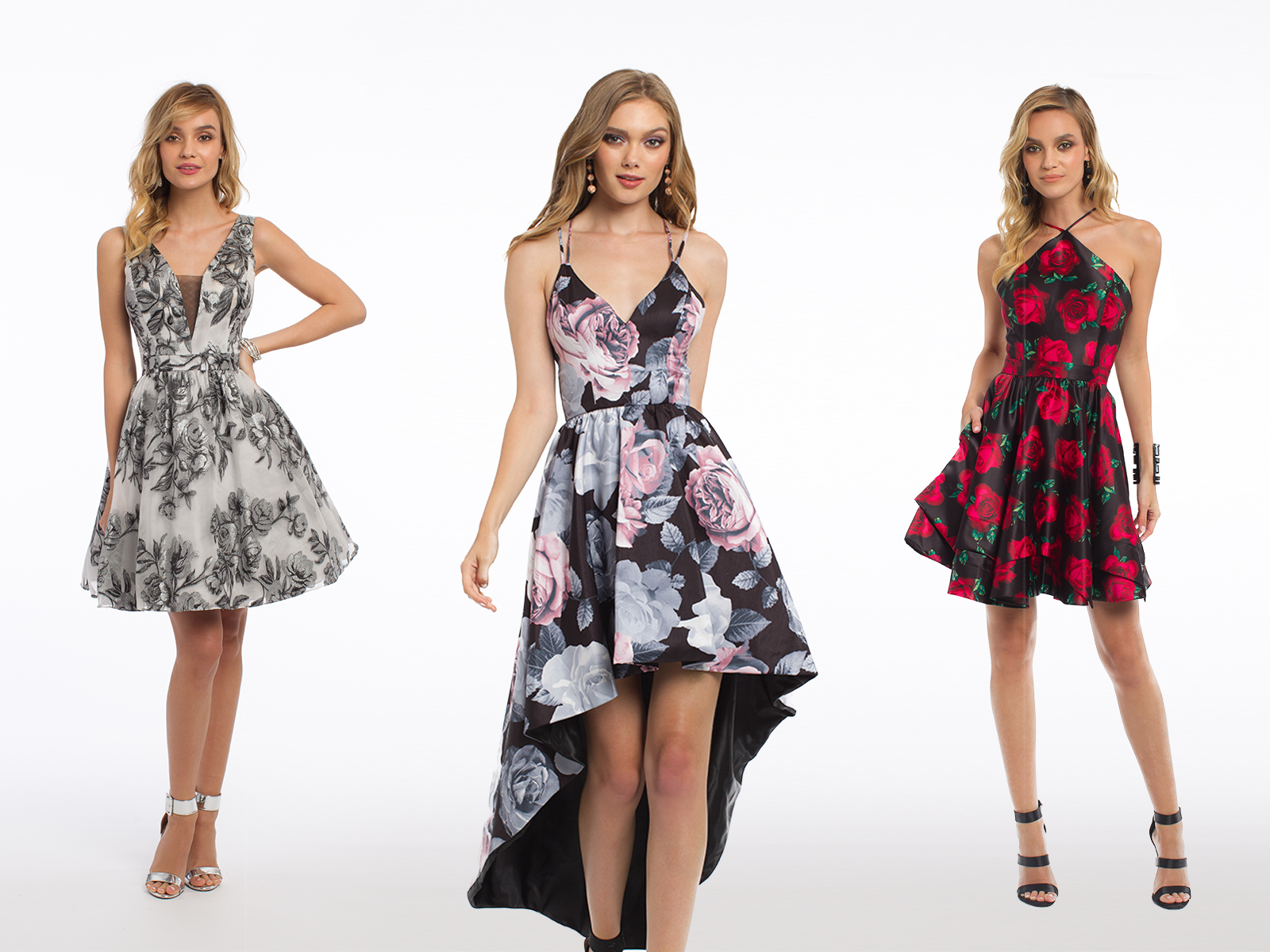 Floral Homecoming Dresses