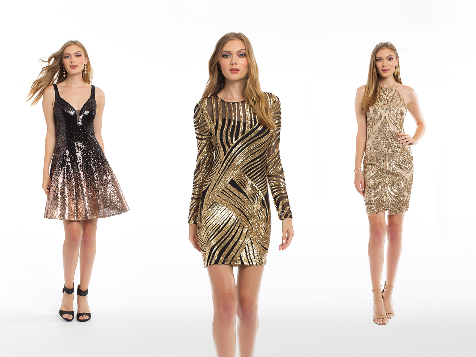 Sequin Homecoming Dresses