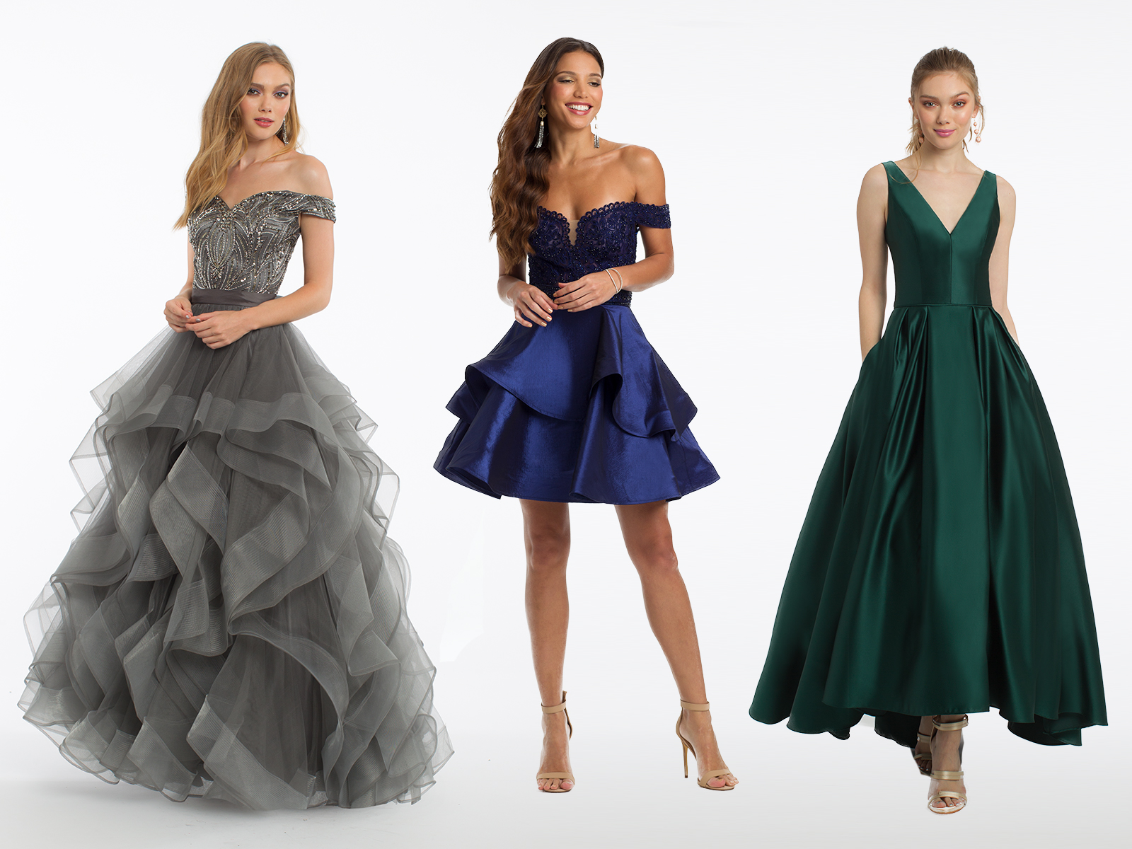 Evening Dresses by Camille La Vie