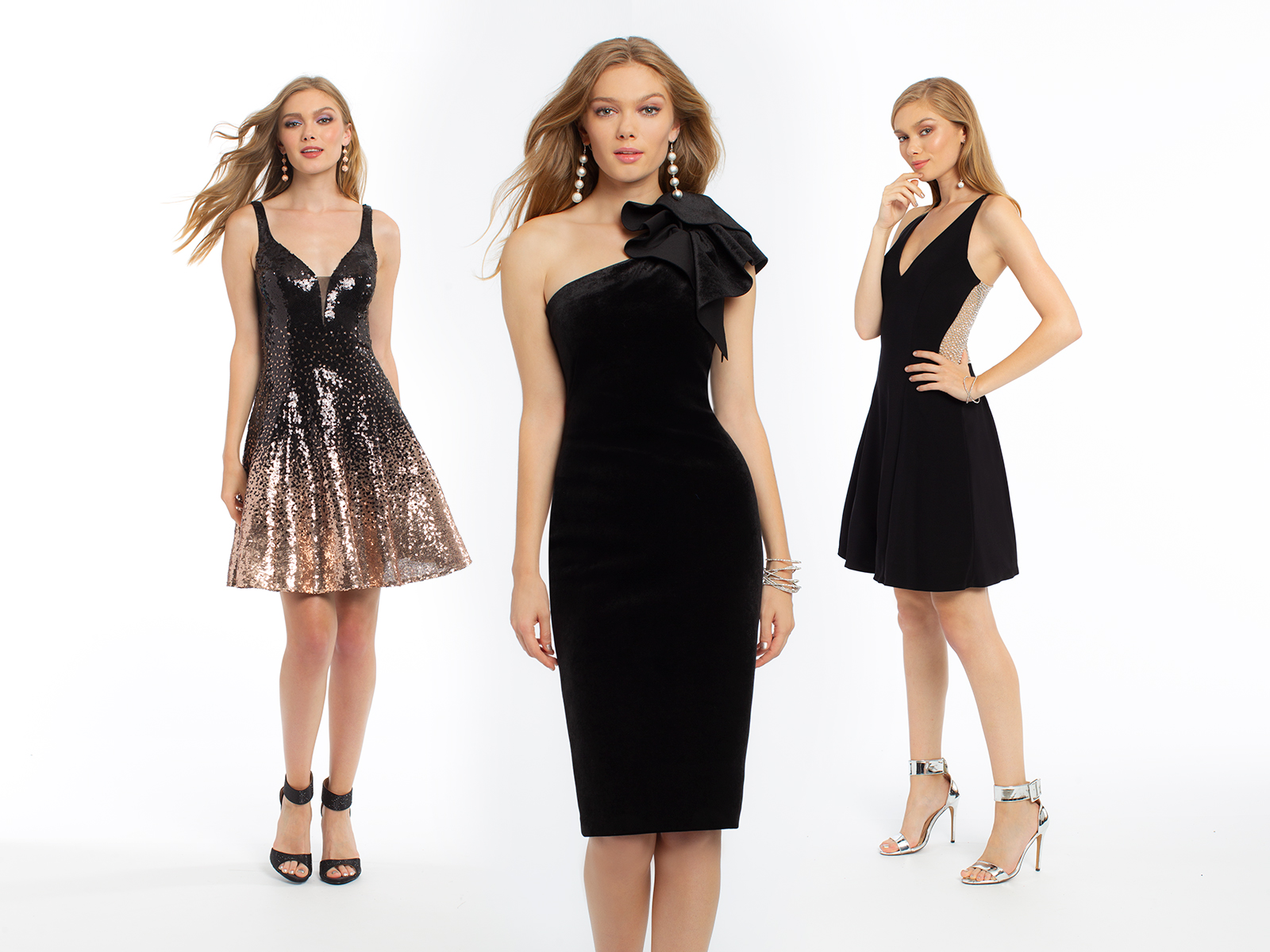 Black Holiday Dresses