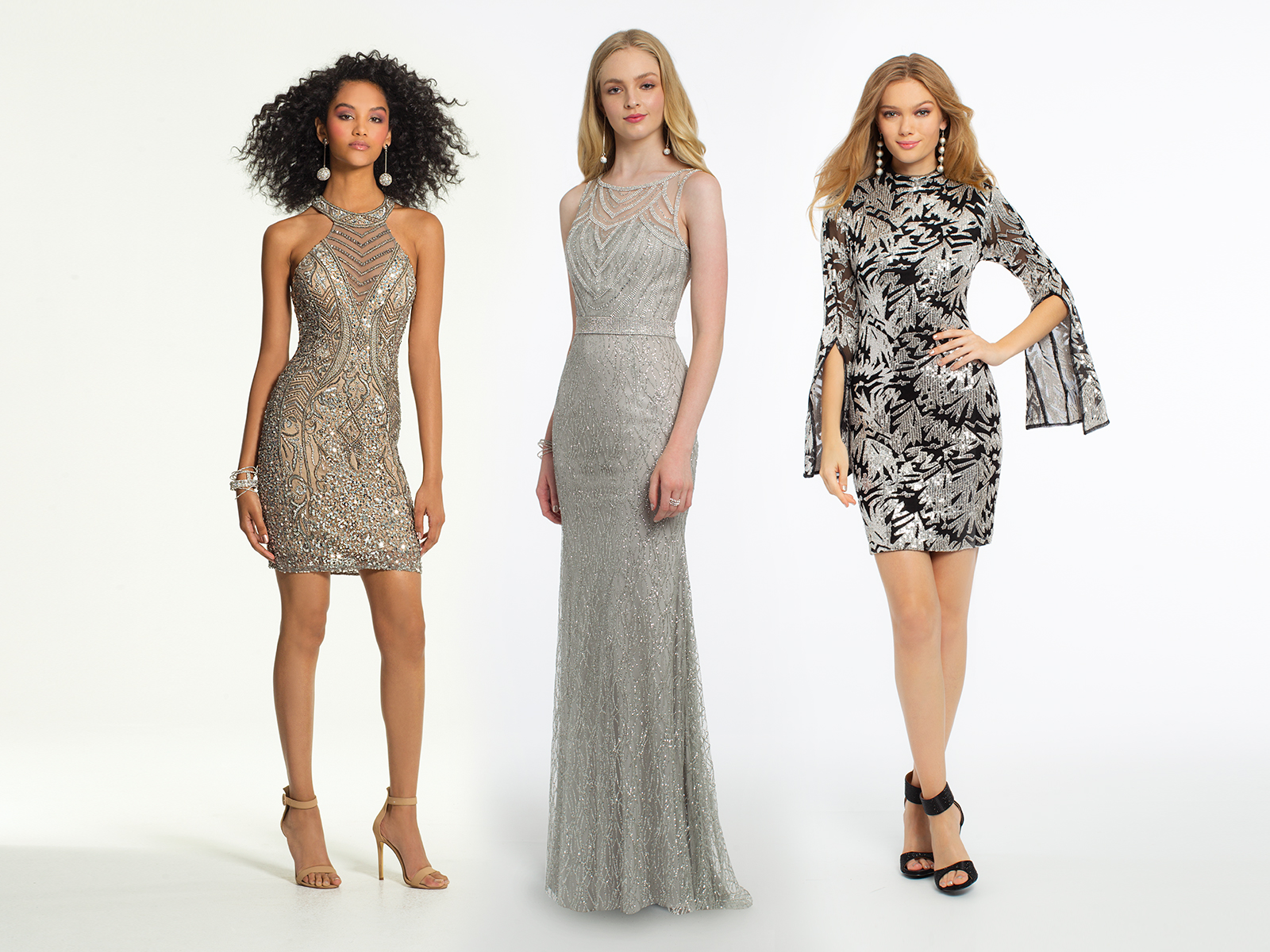 Silver Holiday Dresses