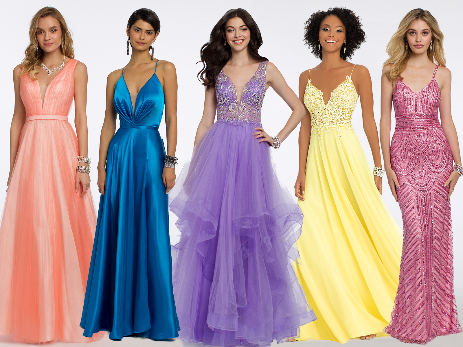 $250 and Under Prom Dresses | Camille La Vie