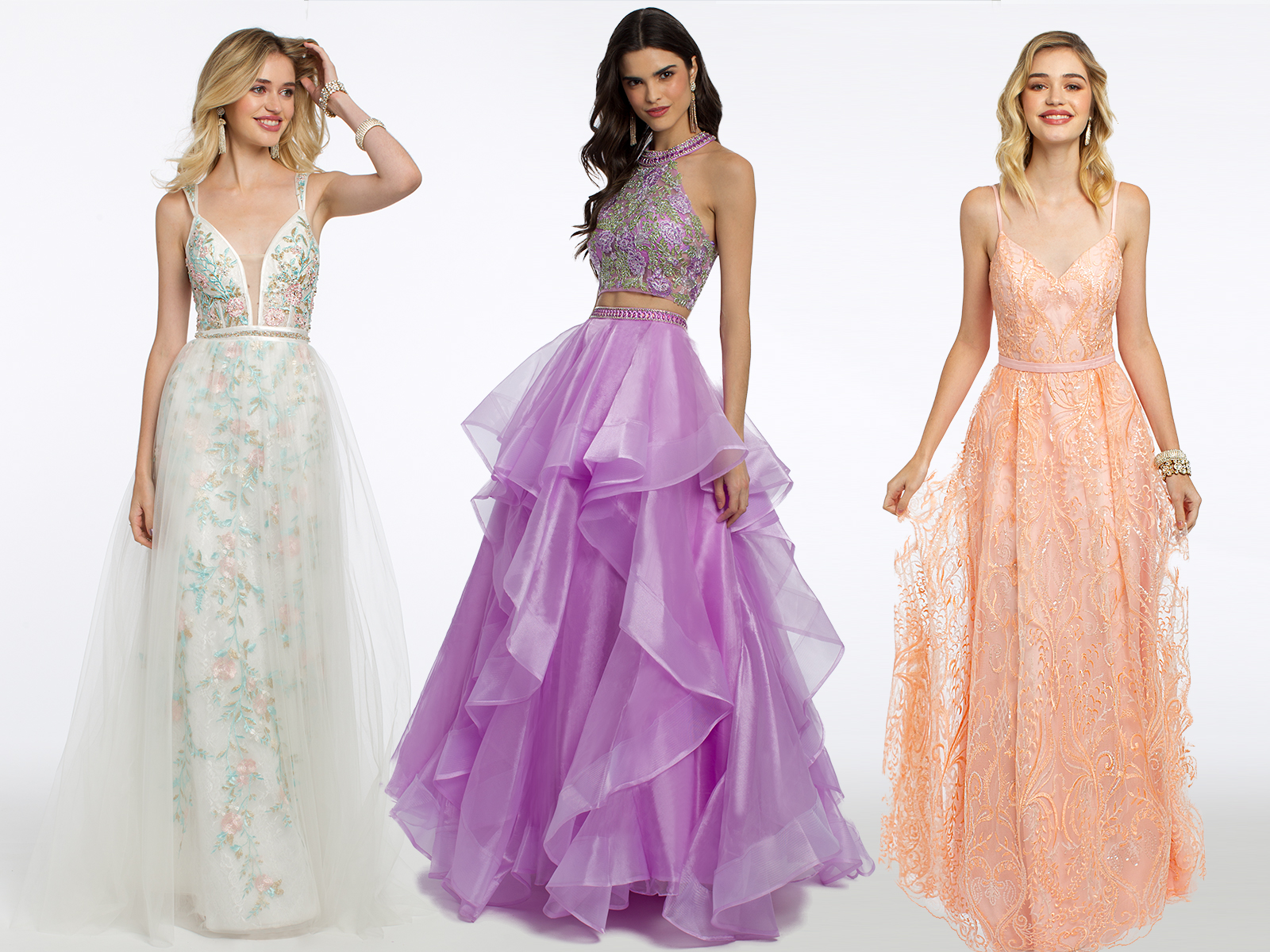 Long Prom Dresses by Camille La Vie